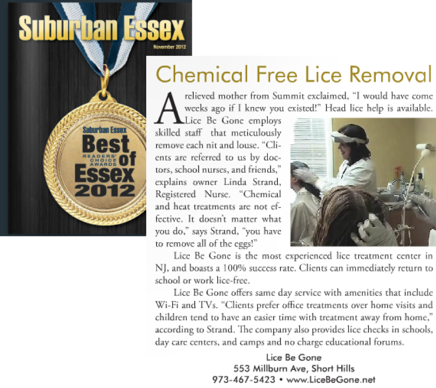 Article About Lice Removal Treatment - Lice Be Gone